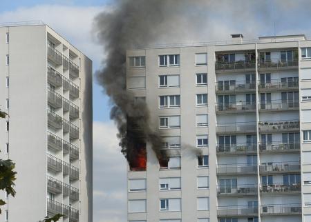 incendie au 213 rue Vercingétorix à Paris 14e, le 30 août 2011
